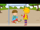 Caution Watch out! Are you okay - Easy Dialogue - English educational animation with subtitles