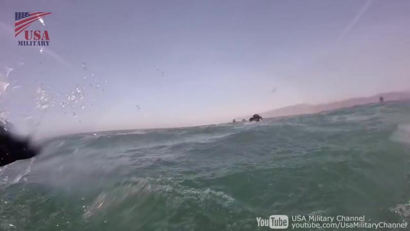 【GoPro撮影で臨場感がすごい】陸上自衛隊米海兵隊のゾディアックボートでの海岸上陸訓練:アイアンフィスト2018