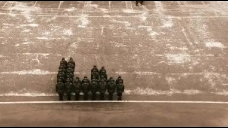 Армейский тетрис