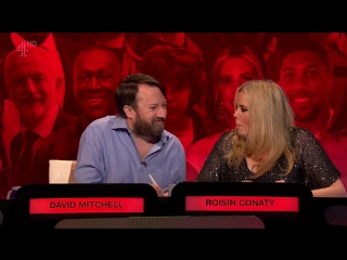 The Big Fat Quiz Of The Year 2017 - Richard Ayoade, Roisin Conaty, Noel Fielding, David Mitchell, Big Narstie, Katherine Ryan