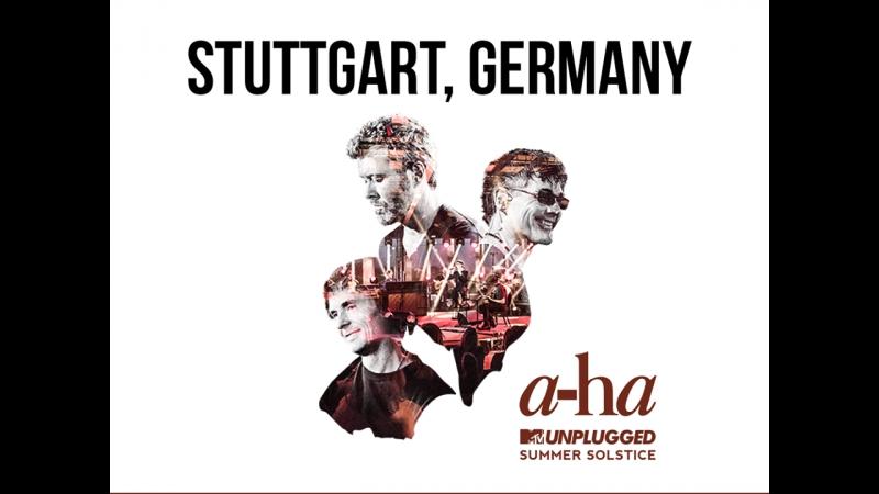 A-ha — Living A Boys Adventure Tale - MTV Unplugged - Stuttgart, Germany-23.01.2018 (live)