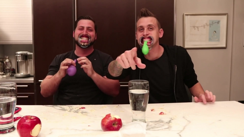 MOUTHGUARD CHALLENGE WITH ROMAN ATWOOD