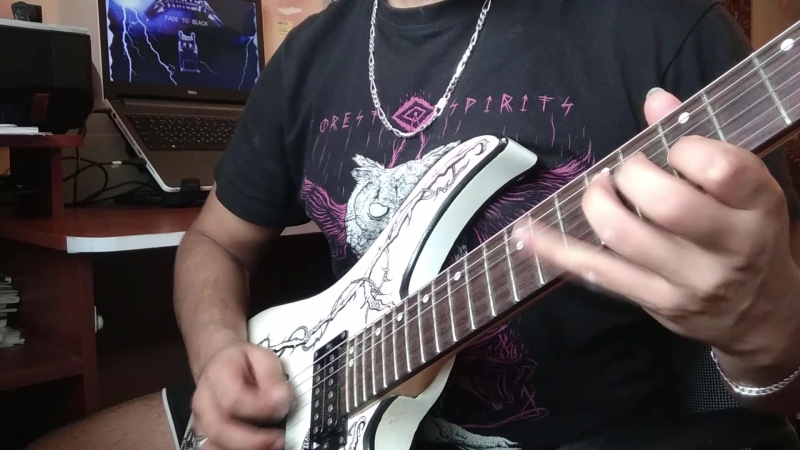 Metallica Fade To Black SOLO cover by ragnar