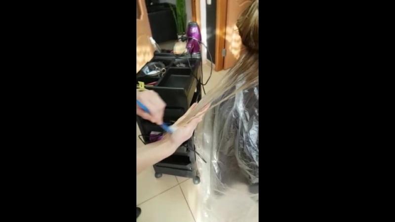 спа уход за волосами молекулярный коктель MATRIX