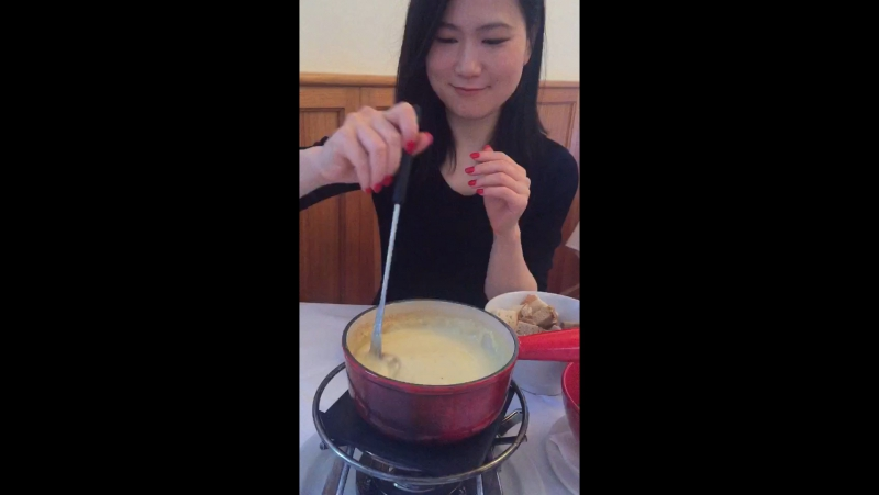 Found authentic cheese fondue in Melbourne
