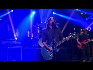 Foo Fighters - The Sky Is A Neighborhood | Live at Sveriges Television (Skavlan) 2017