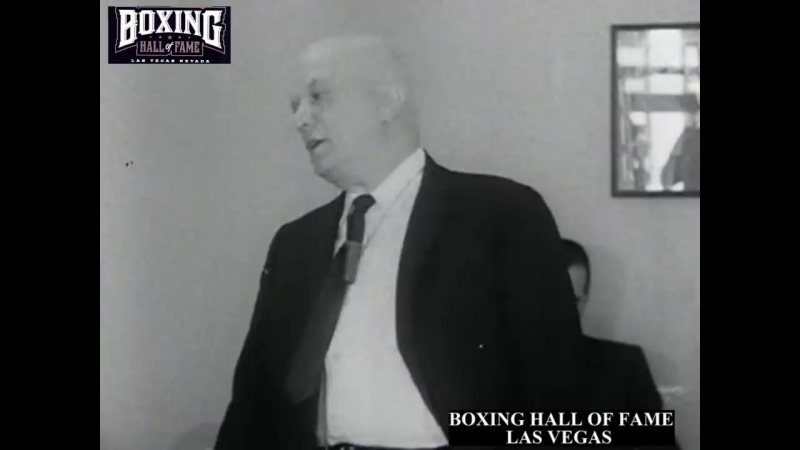 Cus D'amato gives HYPNOTISM Demonstration Before Liston Fight