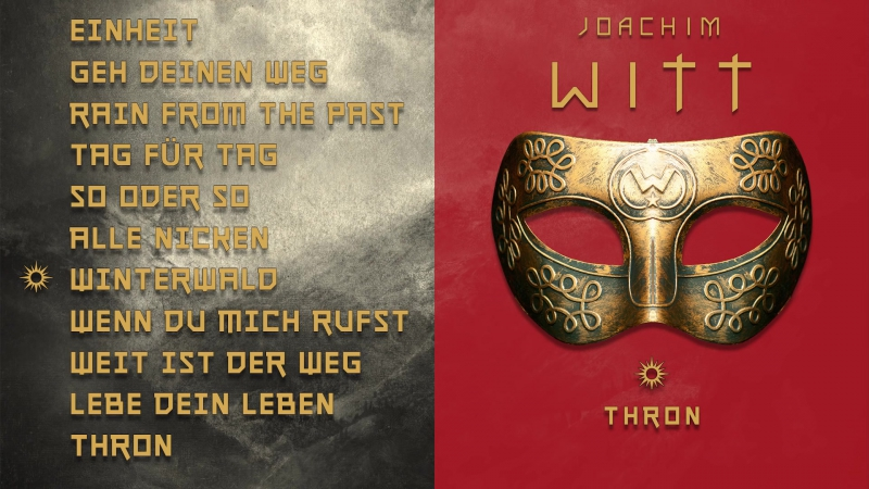 Joachim Witt - THRON - Albumplayer