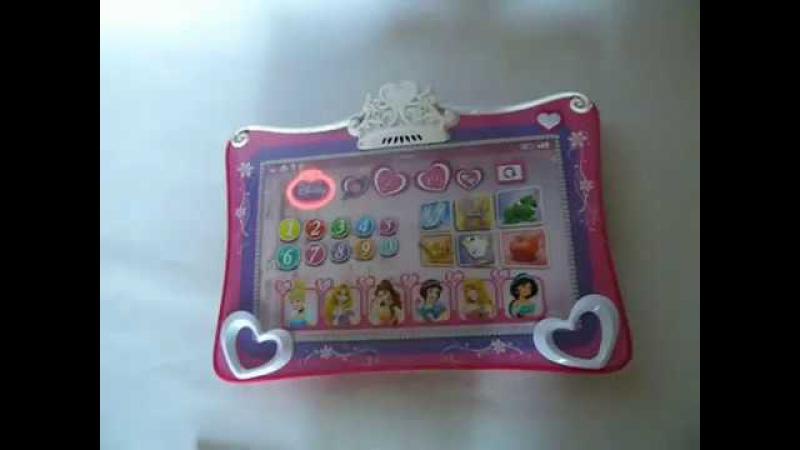 Видео обзоры Планшет Принцессы Диснея Princess Tablet