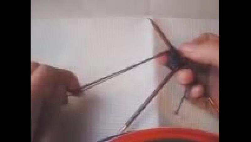 Как вязать В ТРИ НИТИ из одного мотка или клубка.