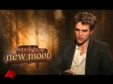 Robert Pattinson, Kristen Stewart and Taylor Lautner talk about New Moon