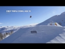 First quad landed in a competition This is Marcus Kleveland E3