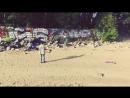 Внезапное падение😝 квадрокоптер полет финскийзалив финскийзаливсвысоты пейзаж фитнесмодель spbmodel граффити игорянигор