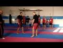 Защита от двойки джеб кросс с входом и ударом в пах Фрагмент тренировки во время тренировочного лагеря по Арнис в Севастополе