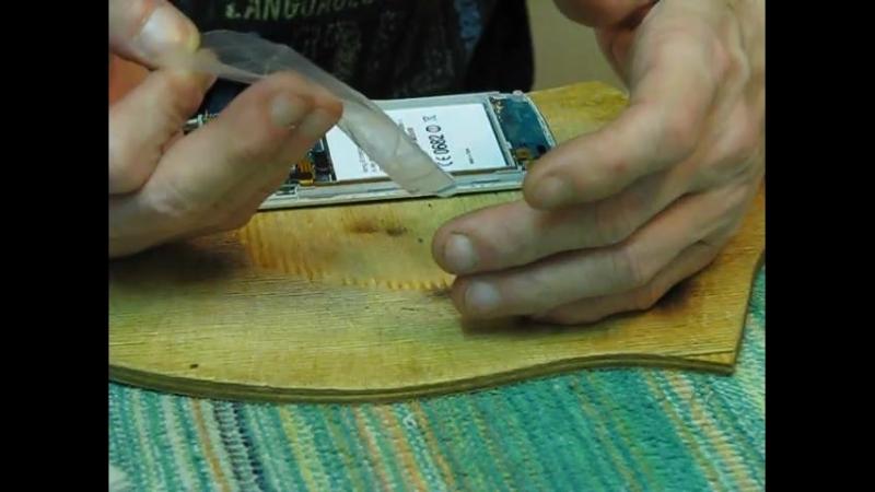 Ремонт Телефона Sony Erison XPERIA LT18i. Замена флеш памяти, диод шоттки, замена транзистора, мосфета по питанию и тдтп. Чис