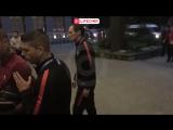 Игроки сборной Португалии неохотно раздавали автографы своим болельщикам в Москве