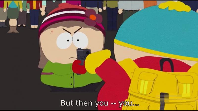 Heidi finally broke up with Eric Cartman