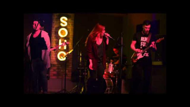 Кавер группа Glance - SOHO club (Алматы 2018, живой звук)