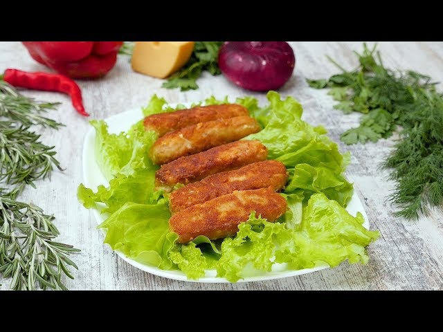 Куриные колбаски с сыром - Рецепты от Со Вкусом
