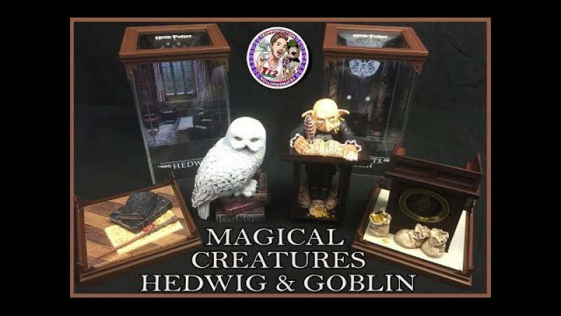HARRY POTTER MAGICAL CREATURES HEDWIG GRINGOTTS GOBLIN