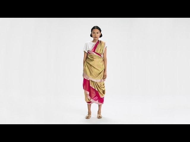 How To Drape a Sari: No. 59 Agari Drape - Maharashtra, India