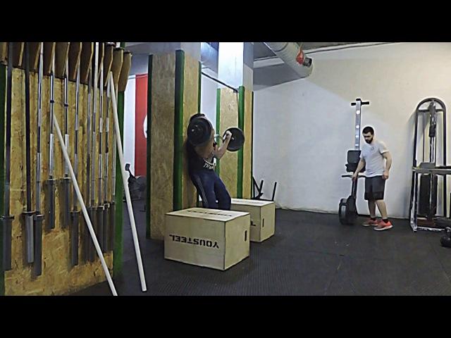 Строгий подъем на бицепс 75 кг хороший незачет