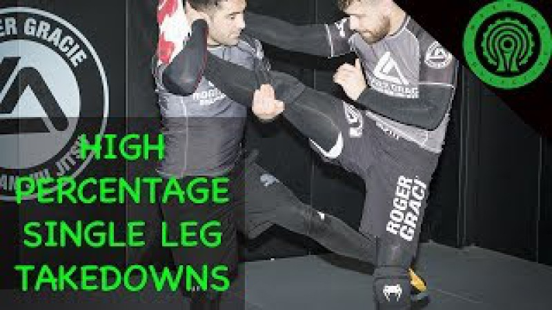 Wrestling High Percentage Single Leg Takedowns for BJJ MMA