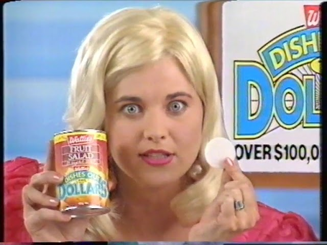 OLD NEW ZEALAND TV ADS 1994 WATTIES TINNED FOOD WITH LUCY LAWLESS
