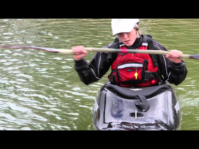 The High Brace - How to Kayak - Paddle Education