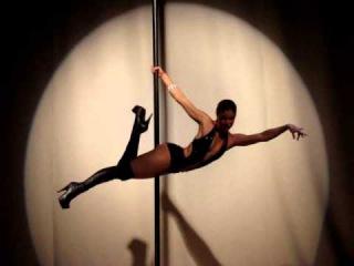 Performance da MULHER GATO by Vanessa Costa - MISS POLE DANCE BRASIL 2010