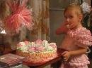 Юбилейный торт для бабушки,пока никто не видит..