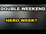 DOUBLE WEEKEND EVENT AND HERO WEEK ROUND 3 IN THE WALKING DEAD NO MAN'S LAND