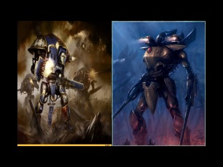 POWERPLAY#1 Craftworlds: Saim Hann, Ulthwe, Alaitoc vs Black Templars 3500 Pts!!!