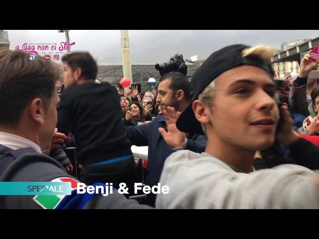 Benji e Fede Instore Napoli, Feltrinelli Piazza Garibaldi Napoli (acasanoncisto.it)