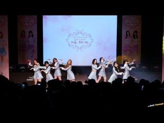 171203 러블리즈 Lovelyz '종소리 Twinkle' @서든어택 콘서트 4K 직캠 by DaftTaengk