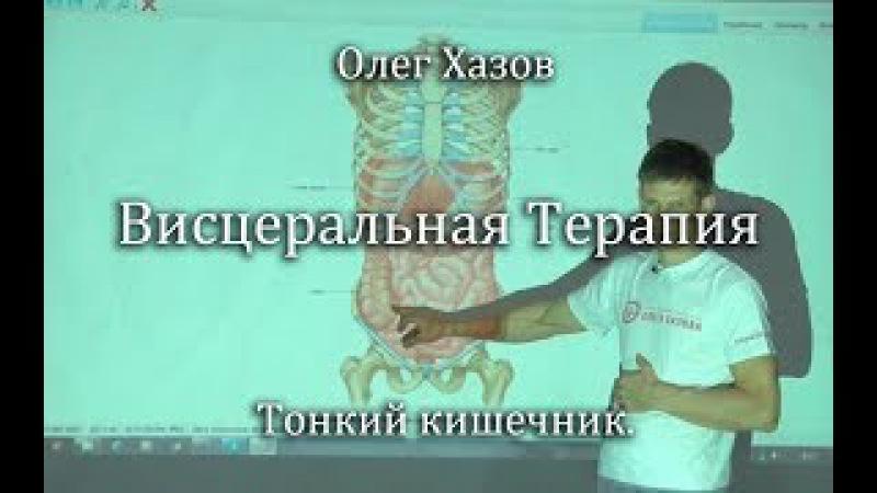 Висцеральная терапия. Тонкий кишечник. Олег Хазов