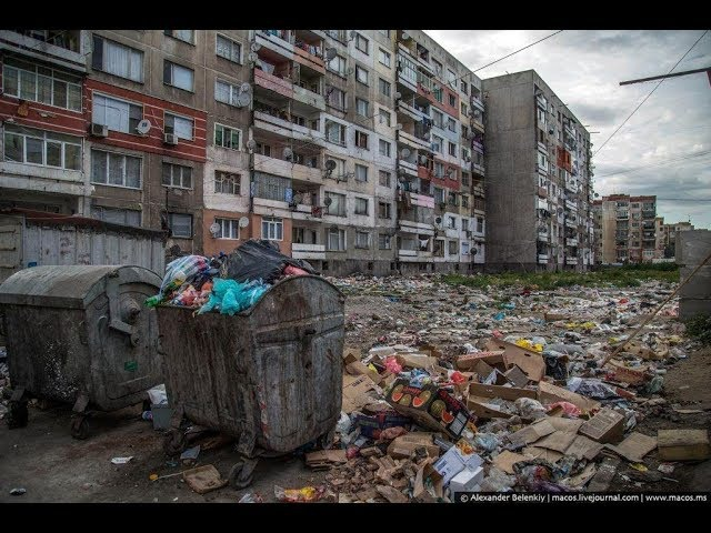 16.11.17 Эстония, Таллинн. Жуткий дом для бедных в гетто.