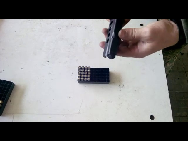 Снаряжение магазина ГШ-18