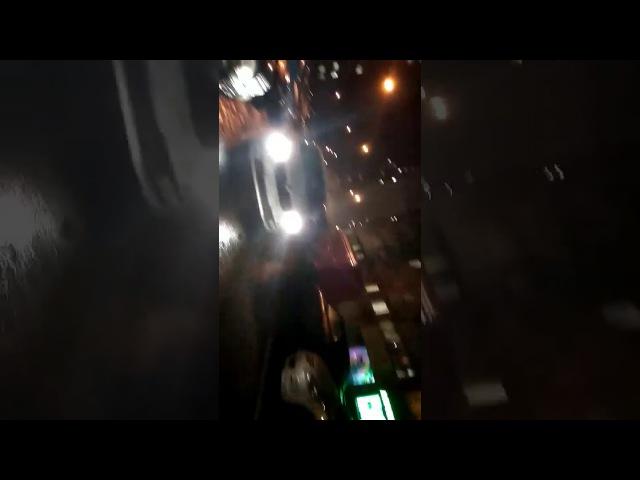 Водитель устроил потасовку с пожарными, ехавшими на вызов в Трехгорке