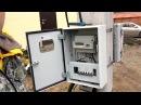 Сборка щита учета электроэнергии 15КВт 380В. Установка электрического счетчика на...