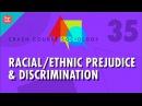 Racial/Ethnic Prejudice Discrimination: Crash Course Sociology 35