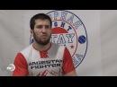 Боец ACB Устармагомед Гаджидаудов провел мастер класс для детей