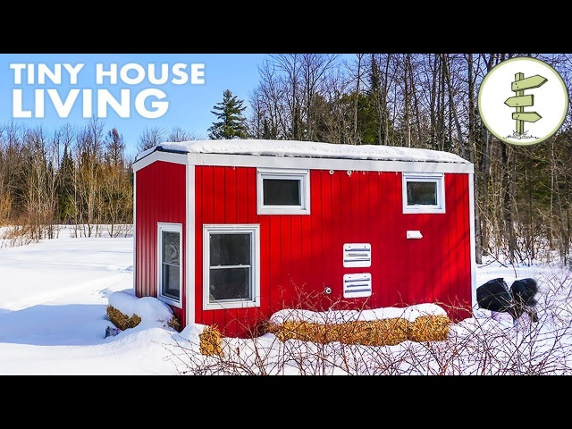 Woman Living in a Tiny House Loves the Small Space Financial Freedom