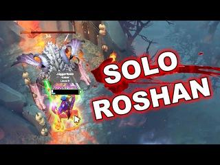 Dota 2 Tricks: Solo Roshan 7.08!