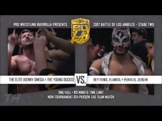 The Elite vs Lucha Brothers & Flamita Highlights HD Battle Of Los Angeles 2017 Night Two