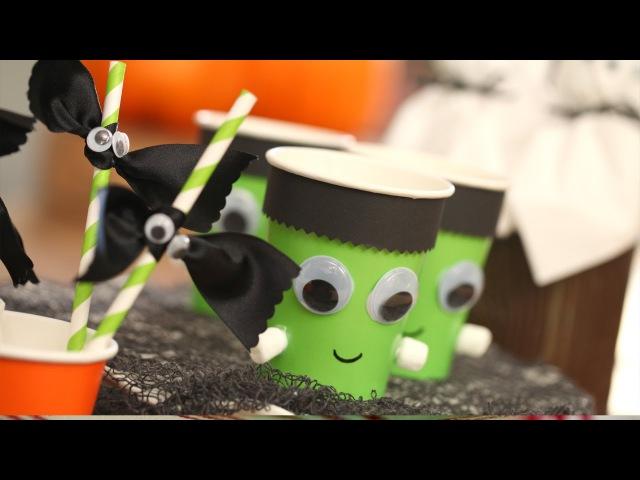 How to Set a Kids Halloween Table KIN PARENTS