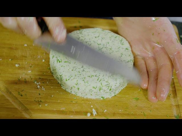 Рецепт миндального сыра по сыроеду! | Веган-гурман