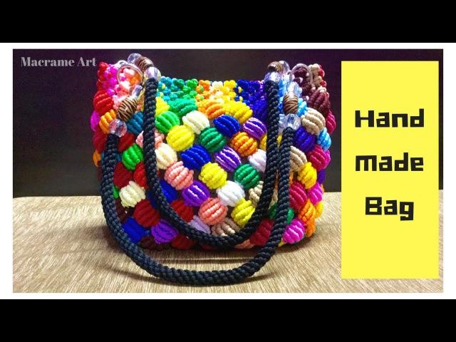 Macrame Bag New Design | Handmade Macrame Bag | Macrame Art