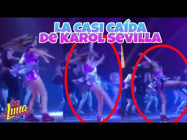Soy Luna - Karol casi se cae y Katu olvida la coreografía