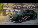 VW Golf GTI - Customization / review / tuning / обзор гольф / NFS Payback Xbox One S / cars / SHORT